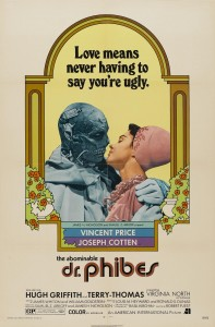 POSTER - THE ABOMINABLE DR.PHIBES